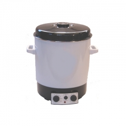 SHOT - Hot water tank for pebble water